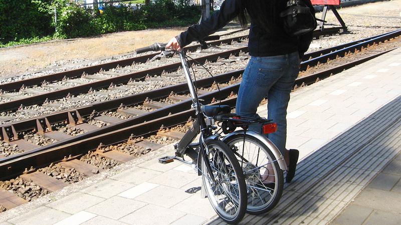 viaggia con bici pieghevole